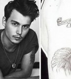 Celebrity Tattoo Design - Johnny Depp