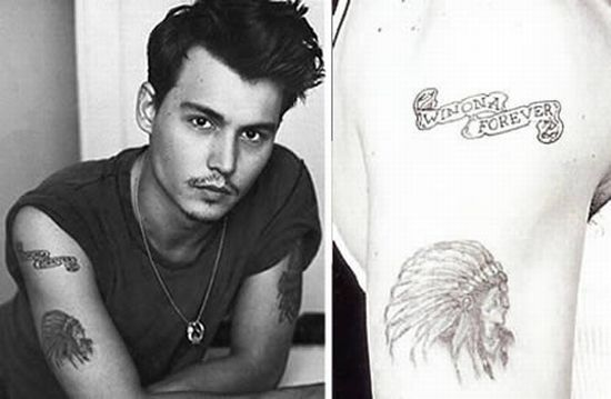 Celebrity Tattoo Design – Johnny Depp
