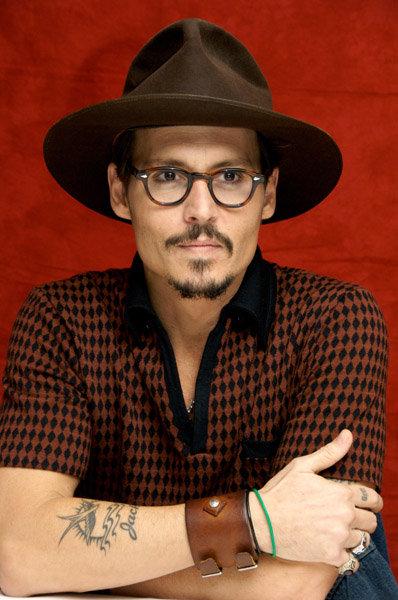 Celebrity Tattoos Johnny Depp In A Photo