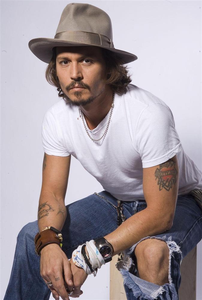 Johnny Depp Arm Tattoos Styles