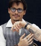 Johnny Depp Inner Arm Tattoos Styles