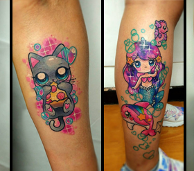 kawaii-tattoos