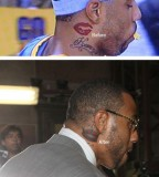 Kenyon Martin Fixed Lips Tattoo