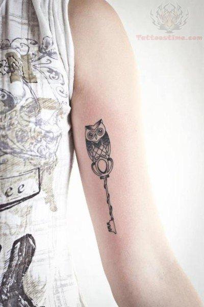 Amazing Owl Key Tattoos For Men Tattoomagz Tattoo Designs