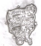 Kids Name Tattoo Design Sketch By Tattooed Honey on Deviantart