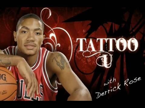 Derrick Rose Tattoo Design Inspiration