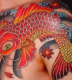 Red Koi Fish Tattoos Design And Inspiration