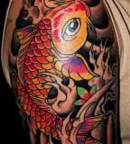 Awesome Koi Fish Tattoos Design And Inspiration