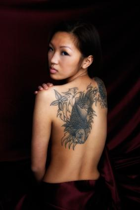 Koi Fish Tattoos Meanings for Women (NSFW)