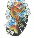 Japanese Koi Fish Tattoo Designs Gallery