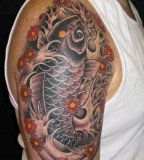 Bongo Denim Tatto Design Of Koi Tattoo