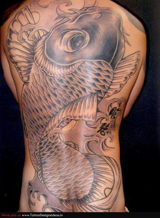 Tatto Design Of Koi Tattoos All Body