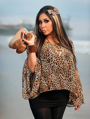 Snooki Explains Meaning Of New Fierce Leopard Tattoo Jersey Shore