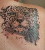 Spotted Leopard Tattoo
