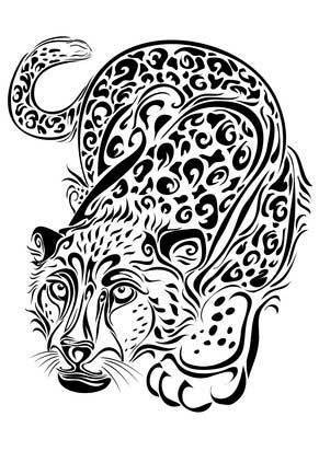 7a9c80eeffbeb The Power Symbol Leopard Tattoos - | TattooMagz › Tattoo Designs ...