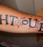 Hithouse Letters Tattoo Designs On Hand
