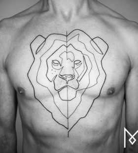 lion-chest-tattoo-by-mo-ganji-2