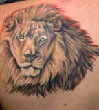 Awesome Lion Head Tattoo Design Ideas - Animal Tattoos