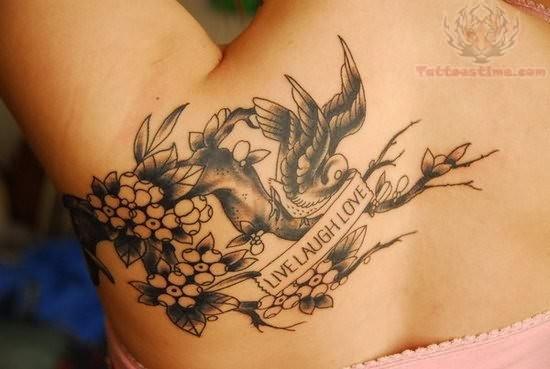 Best Live Laugh Love Tattoo