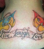 Live Laugh Love  Tattoo Picture At Checkoutmyink