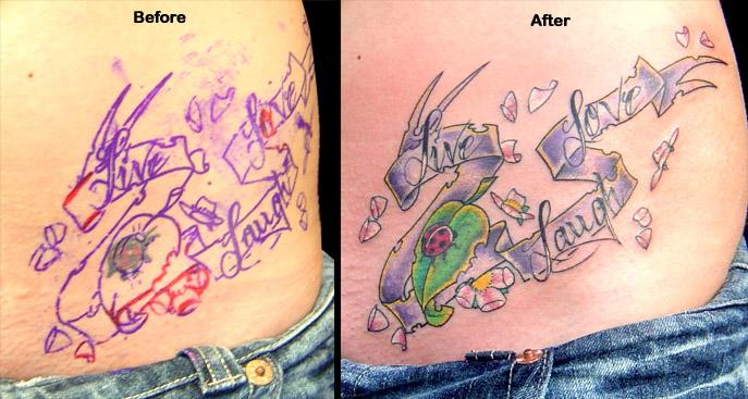 Tattoos Nature Animal Ladybug Tattoos Live Laugh Love