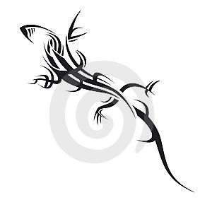 Cool Lizard Tattoo Designs