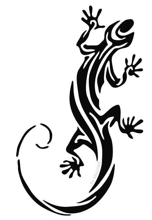 Deviantart N A Tattoodonkey Lizard Tattoo Design Art Flash
