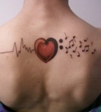 Melodic Music Tattoo Designs