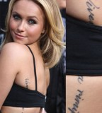 Hayden Panettiere Tattoo Photo