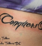 Awesome Love Conquers All Tattoo