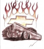 Chevrolet Impala Tattoo By Lowridergirl On Deviantart