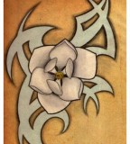 Magnolia Flower Tattoo Design That I Drew Up Today Whats Everyone