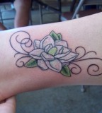 Magnolia Tattoo By Bloodyroses526 On Deviantart
