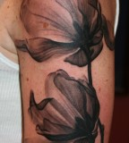 Phil Young Hope Gallery Tattoos Flower Magnolia