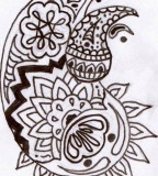 Traditional Henna Tattoo Design Sketches for Women