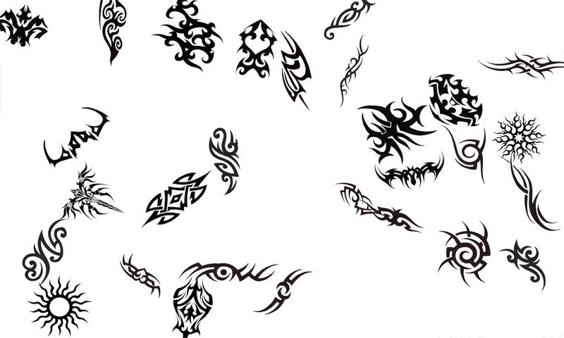 Various Tribal Tattoo Designs Ideas