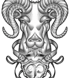 Aries Zodiac Tattoo Designs - Tattoos Expressing Personality