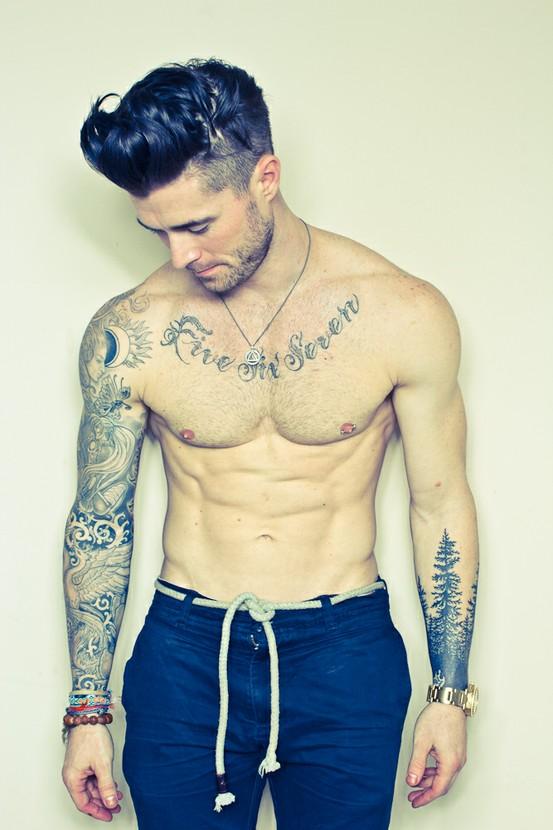 Wild's Sexy Tattooed Men