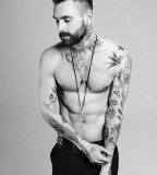 Ricki Hall Classic Model Tattoo