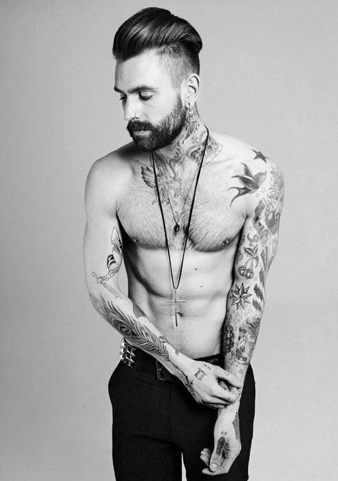 Ricki Hall Classic Model Tattoo