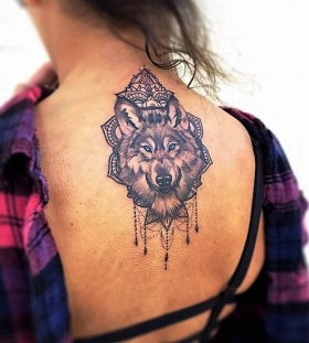 mandala-wolf-tattoos-by-rowell-alfelor