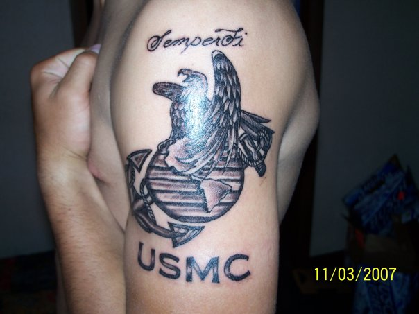 Girl Fashion Words Usmc Tattoo