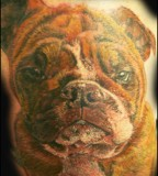 Marine Corps Bulldog Tattoos