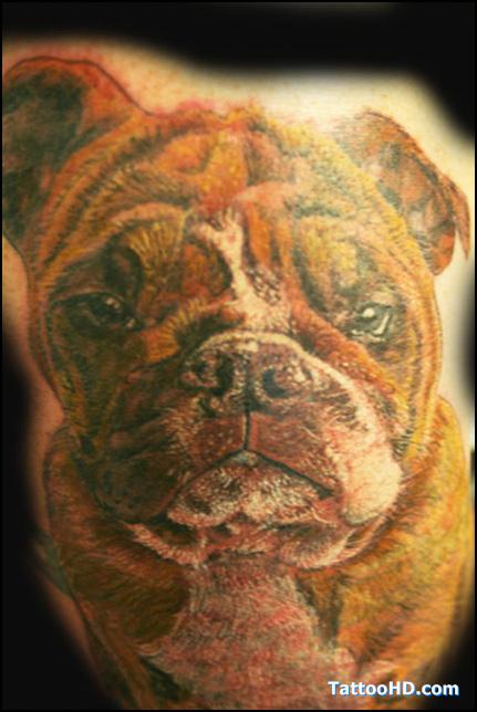 Marine Corps Bulldog Tattoos