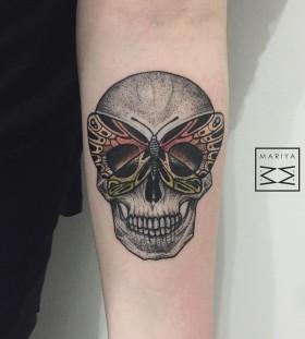 mariyasummer-buterfly-skull-tattoo
