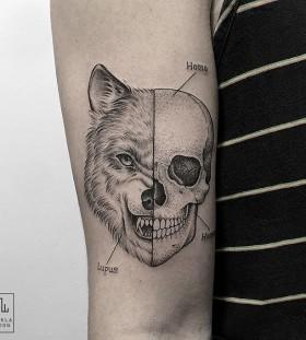 marla_moon-wolf-skull-tattoo