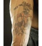 Marquis Daniels Joker Tatttoo is Weird Nba Tattoos