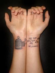 Wrist Tattoo Design For Women