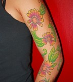 Indian Blanket Tattoo