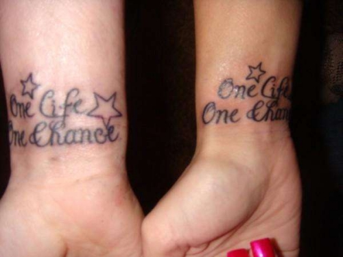 Smashing Matching Tattoos For Couples